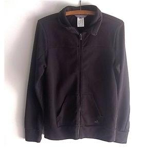 Adidas climalite full zip black jacket